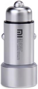 Автомобильное зарядное устройство Xiaomi Mi Dual USB 5V, 2.4A Silver
