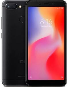 Xiaomi Redmi 6 3/32GB Black (Черный) Global Version